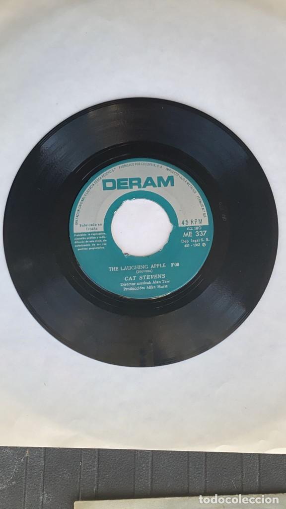 Discos de vinilo: DISCO EP CAT STEVENS A BAD NIGHT RARISIMO EP PORTUGUES - Foto 3 - 274616863