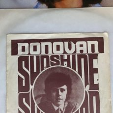 Discos de vinilo: DISCO EP SINGLE DONOVAN SUNSHINE SUPERMAN THE TRIP. Lote 274617593