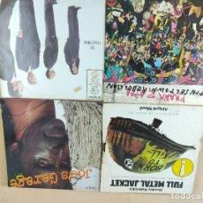 Disques de vinyle: LOTE DE 4 DISCOS DE VINILO DAVID BOWIE,F,RAN ZAPPA,CHAQUETA METALICA. Lote 274618683