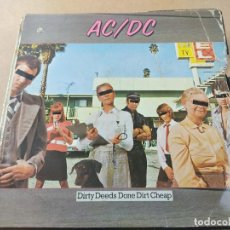 Disques de vinyle: LOTE DE18 DISCOS DE VINILO AC DC LED-ZEPPELIN ETC. Lote 274621303