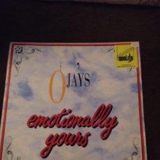 Discos de vinilo: THE O JAYS. EMOTIONALLY YOURS. EDICIÓN EMI DE 1991 USA. CAR. Lote 274632298
