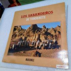 Discos de vinilo: LOS SABANDEÑOS- DE TENDERETE. Lote 274635278