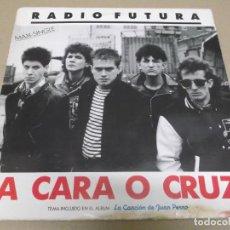Discos de vinilo: RADIO FUTURA (MAXI) 37 GRADOS (2 TRACKS) AÑO 1987. Lote 274647778