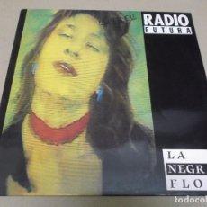 Discos de vinilo: RADIO FUTURA (MAXI) LA NEGRA FLOR (2 TRACKS) AÑO 1987 - PROMOCIONAL. Lote 274647798