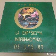 Discos de vinilo: POP DECO (FERNANDO MARQUEZ) (MAXI) LA EXPOSICION INTERNACIONAL DE LOS 80' (3 TRACKS) AÑO 1986. Lote 274647973
