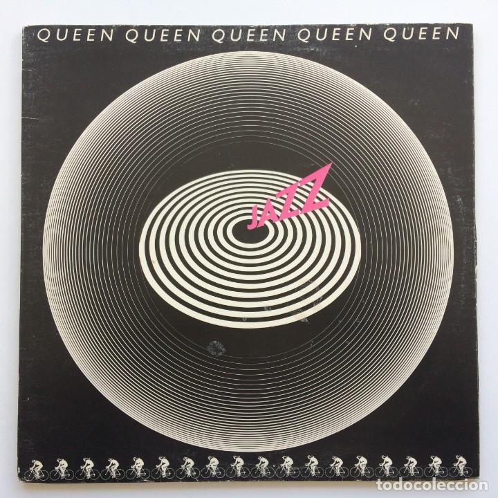 QUEEN – JAZZ SCANDINAVIA,1978 EMI (Música - Discos - LP Vinilo - Pop - Rock - Internacional de los 70)