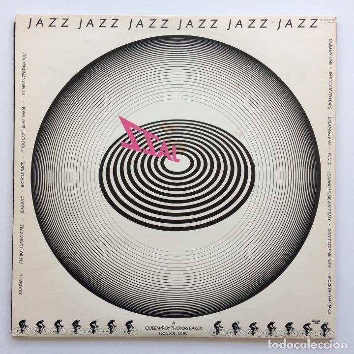 Discos de vinilo: Queen – Jazz Scandinavia,1978 EMI - Foto 2 - 274648598