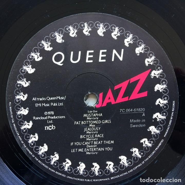 Discos de vinilo: Queen – Jazz Scandinavia,1978 EMI - Foto 6 - 274648598