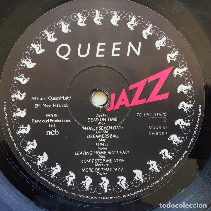 Discos de vinilo: Queen – Jazz Scandinavia,1978 EMI - Foto 7 - 274648598