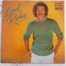 Discos de vinilo: LIONEL RICHIE. TRULY. LP ORIGINAL ESPAÑA PORTADA DOBLE. Lote 274660363