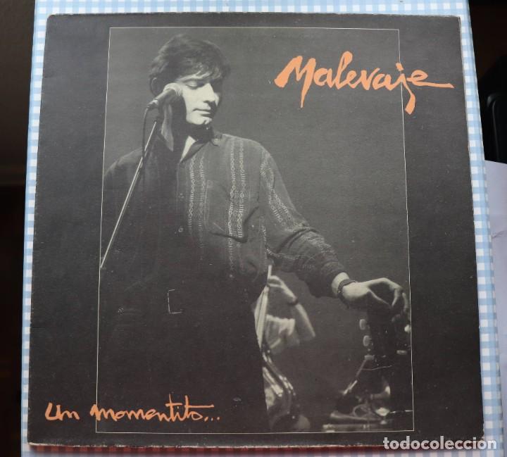 DISCO VINILO LP UN MOMENTITO - MALEVAJE - (Música - Discos - LP Vinilo - Grupos Españoles de los 70 y 80)