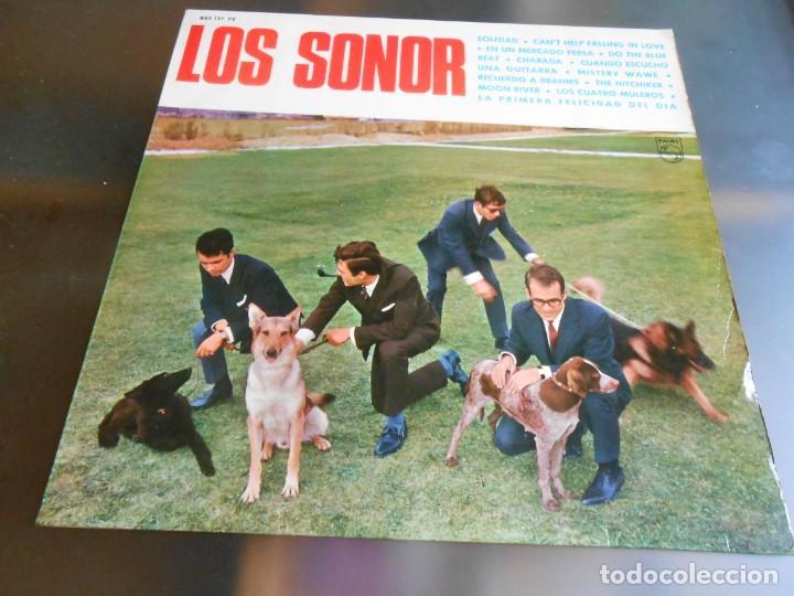SONOR, LOS, LP, SOLEDAD + 11, AÑO 1965 (Música - Discos - LP Vinilo - Grupos Españoles 50 y 60)