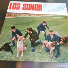 Discos de vinilo: SONOR, LOS, LP, SOLEDAD + 11, AÑO 1965. Lote 274661808
