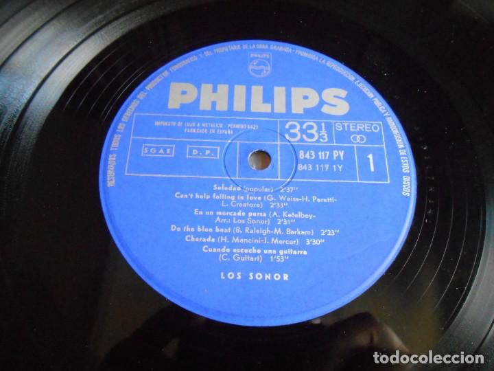 Discos de vinilo: SONOR, LOS, LP, SOLEDAD + 11, AÑO 1965 - Foto 4 - 274661808