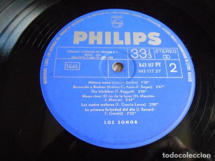 Discos de vinilo: SONOR, LOS, LP, SOLEDAD + 11, AÑO 1965 - Foto 5 - 274661808