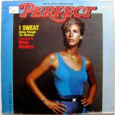 Discos de vinilo: NONA HENDRYX - I SWEAT (SOUNDTRACK PERFECT, JAMIE LEE CURTIS) - MAXI ARISTA 1985 BPY. Lote 274680213