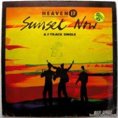 Discos de vinilo: HEAVEN 17 - SUNSET NOW - MAXI VIRGIN 1984 BPY. Lote 274680943