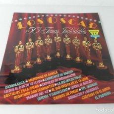 Discos de vinilo: LOS OSCAR (50 TEMAS INOLVIDABLES) 3 DISCOS LP'S (DIVUCSA-1991). Lote 274682093