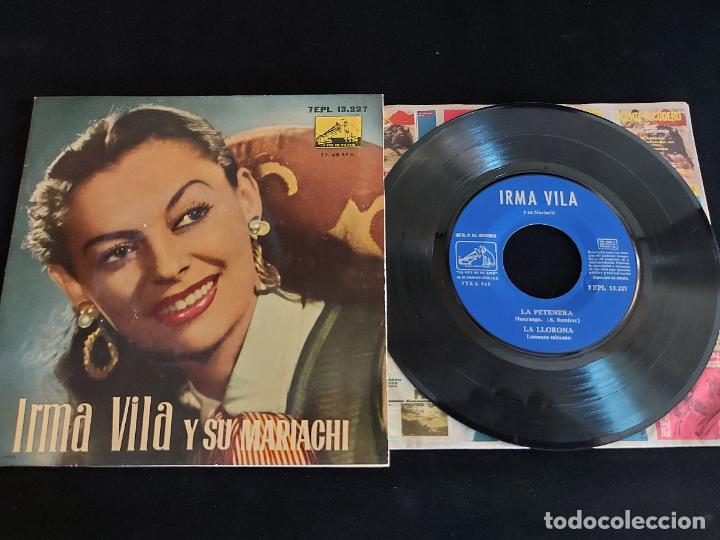 IRMA VILA Y SU MARIACHI / EP-LA VOZ DE SU AMO-1958 / MBC. ***/*** (Música - Discos de Vinilo - EPs - Grupos y Solistas de latinoamérica)