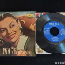 Discos de vinilo: IRMA VILA Y SU MARIACHI / EP-LA VOZ DE SU AMO-1958 / MBC. ***/***. Lote 274683353