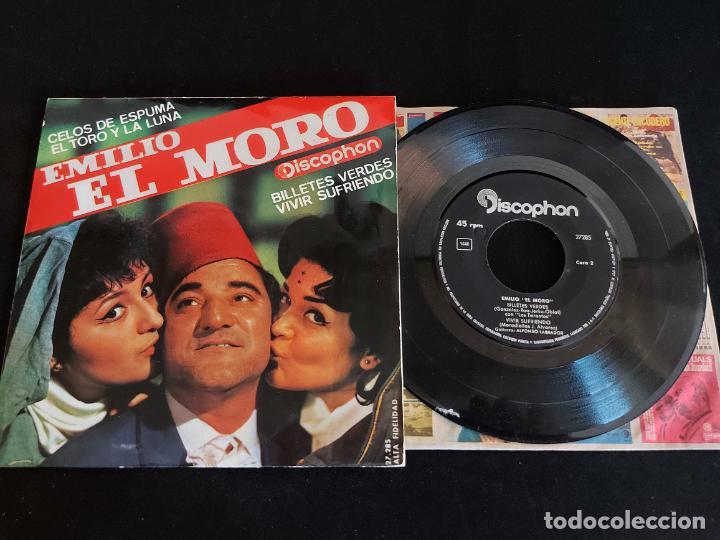 EMILIO EL MORO / CELOS DE ESPUMA + 3 / EP-DISCOPHON-1964 / MBC. ***/*** (Música - Discos de Vinilo - EPs - Grupos Españoles 50 y 60)