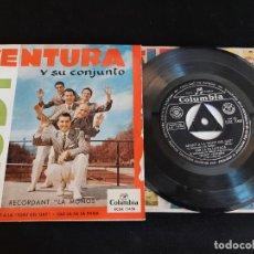 Discos de vinilo: RUDY VENTURA Y SU CONJUNTO / RECORDANT LA MOÑOS / EP - COLUMBIA-1960 / MBC. ***/***. Lote 274685408