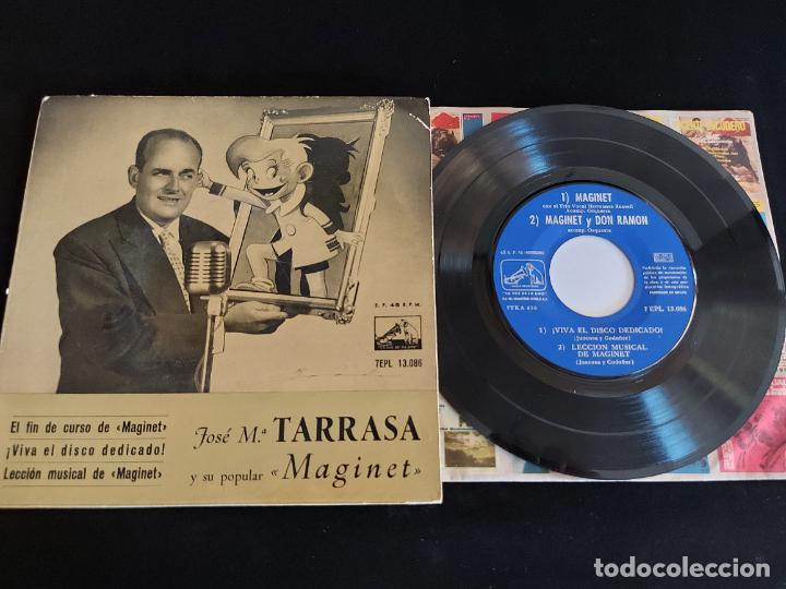 JOSE Mª TARRASA Y SU POPULAR MAGINET / EP - LA VOZ DE SU AMO-1958 / MBC. ***/*** (Música - Discos de Vinilo - EPs - Solistas Españoles de los 50 y 60)
