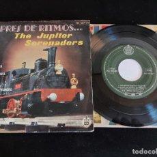 Discos de vinilo: THE JUPITER SERENADERS / EXPRES DE RITMOS / EP - HISPAVOX-1959 / MBC. ***/***. Lote 274687593