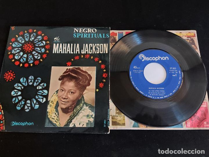 MAHALIA JACKSON / NEGRO SPIRITUALS / EP-DISCOPHON-1961 / MBC. ***/*** (Música - Discos de Vinilo - EPs - Funk, Soul y Black Music)