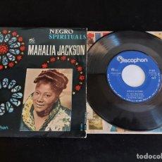 Discos de vinilo: MAHALIA JACKSON / NEGRO SPIRITUALS / EP-DISCOPHON-1961 / MBC. ***/***. Lote 274687968