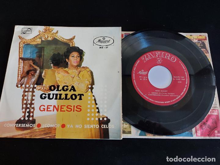 OLGA GUILLOT / GENESIS / EP - ZAFIRO-1969 / MBC. ***/*** (Música - Discos de Vinilo - EPs - Grupos y Solistas de latinoamérica)
