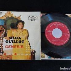 Discos de vinilo: OLGA GUILLOT / GENESIS / EP - ZAFIRO-1969 / MBC. ***/***. Lote 274688628