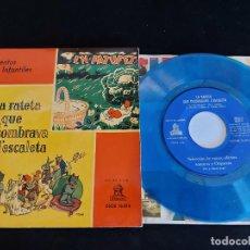 Discos de vinilo: CUENTOS INFANTILES / EN PATUFET + 1 / EP - ODEON-1958 / MBC. ***/***. Lote 274693078