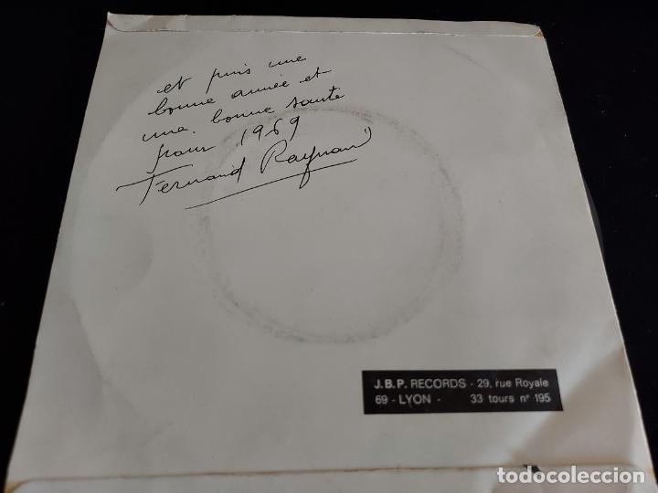 Discos de vinilo: LES SECRETS DU MUSIC HALL DÉVOLILÉS PAR JACKY BERNARD / EP-JBP / 33 R.P.M. / MBC. ***/*** - Foto 2 - 274695793