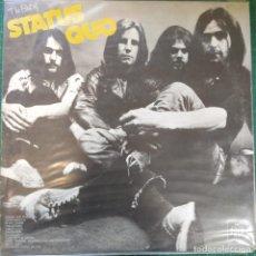 Disques de vinyle: STATUS QUO - THE BEST OF STATUS QUO (LP, COMP) (1973/UK). Lote 274704018
