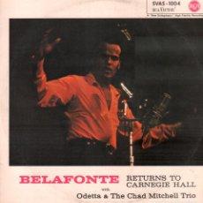 Discos de vinil: BELAFONTE - RETURNS TO CARNEGIE HALL / LP RCA / BUEN ESTADO RF-9876. Lote 274704733