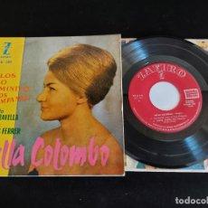 Discos de vinilo: NELLA COLOMBO CON LA ORQUESTA MARAVELLA / CELOS + 3 / EP-ZAFIRO-1960 / MBC. ***/***. Lote 274705298