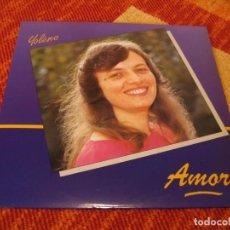 Discos de vinilo: YOLÈNE LP AMOR ECB RECORDS XIAN ORIGINAL ESPAÑA 1987 + LETRAS. Lote 274754848