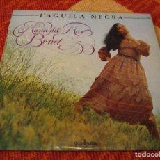 Discos de vinilo: MARÍA DEL MAR BONET LP L´AGUILA NEGRA GUINBARDA ESPAÑA 1981 + LIBRETO. Lote 274764898