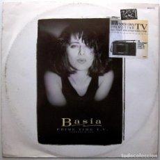 Discos de vinilo: BASIA - PRIME TIME TV - MAXI EPIC 1987 UK BPY. Lote 274766133