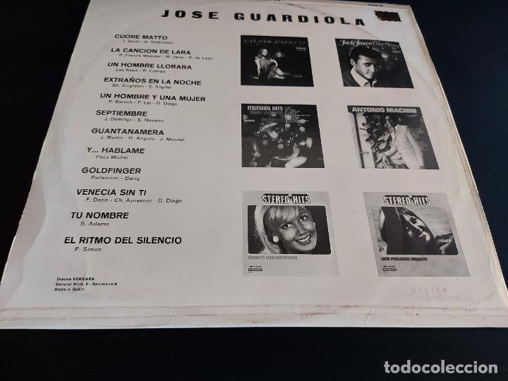 Discos de vinilo: JOSÉ GUARDIOLA / MISMO TÍTULO / LP - VERGARA-1967 / MBC. ***/*** - Foto 2 - 274800648