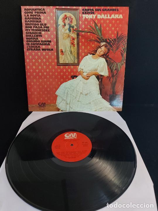 TONY DALLARA CANTA SUS GRANDES ÉXITOS / LP - GRAMUSIC-1974 / MBC. ***/*** (Música - Discos - LP Vinilo - Canción Francesa e Italiana)