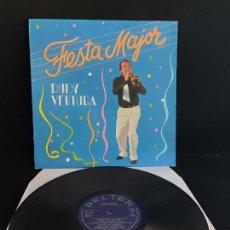 Discos de vinilo: FIRMADO !! RUDY VENTURA / FESTA MAJOR / LP - BELTER-1984 / MBC. ***/***. Lote 274802573