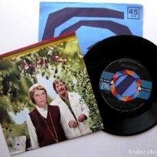 Discos de vinilo: JOHN BARRY - FOLLOW ME! - SINGLE MCA RECORDS 1973 JAPAN (EDICIÓN JAPONESA) BPY. Lote 274803323