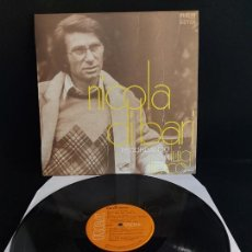 Discos de vinilo: NICOLA DI BARI / RECORDANDO A LUIGI TENCO / LP - RCA-VICTOR-1971 / MBC. ***/***. Lote 274803333