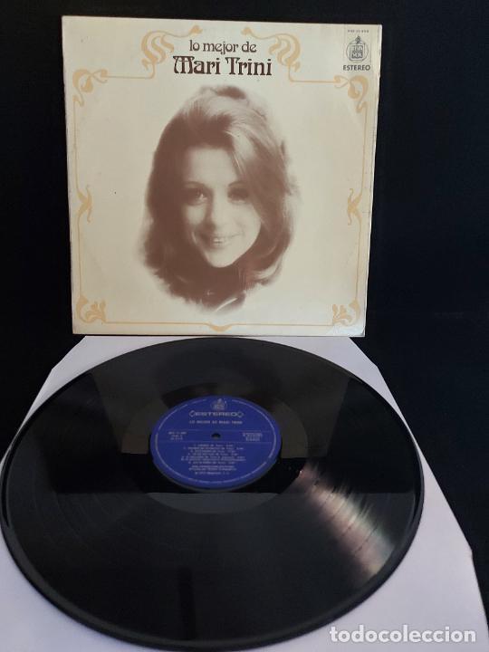 LO MEJOR DE MARI TRINI / LP - HISPAVOX-1975 / MBC. ***/*** (Música - Discos - LP Vinilo - Solistas Españoles de los 70 a la actualidad)