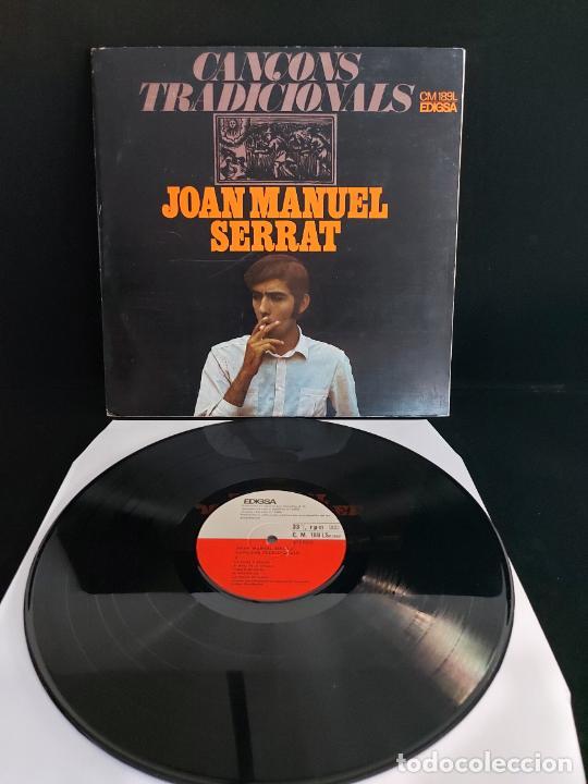 JOAN MANUEL SERRAT / CANÇONS TRADICIONALS / LP-GATEFOLD - EDIGSA-1967 / MBC. ***/*** (Música - Discos - LP Vinilo - Cantautores Españoles)