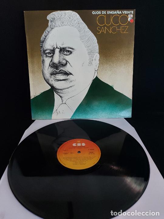 CUCO SANCHEZ / OJOS DE ENGAÑA VEINTE / LP - CBS-1978 / MBC. ***/*** (Música - Discos - LP Vinilo - Grupos y Solistas de latinoamérica)