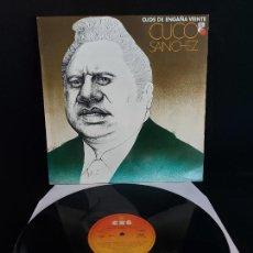 Discos de vinilo: CUCO SANCHEZ / OJOS DE ENGAÑA VEINTE / LP - CBS-1978 / MBC. ***/***. Lote 274805953