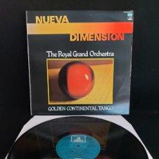 Discos de vinilo: THE ROYAL GRAND ORCHESTRA / GOLDEN CONTINENTAL TANGO / LP - ODEON-1979 / MBC. ***/***. Lote 274806478